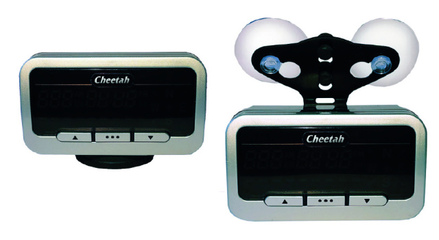NEW Cheetah C550 GPS Speed and Red Light Camera Locator - 100% LEGAL TO USE